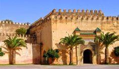 Porte de la vieille ville de Meknès.