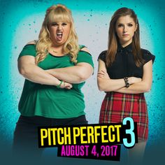 Save the date! Pitch Perfect 3 is hitting theaters August 4, 2017. Who's not excited!!