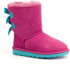 KIDS BAILEY BOW PRINCESS PINK - Quarks Shoes