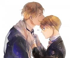 Aph Russia, Aph America, RusAme -don't know if I ship them but this was cute