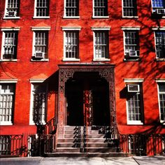 """This building on MacDougal Street is the basis for Mrs. Kirke's boarding house in Louisa May Alcott's """"Little Women."""" MUST SEE."""