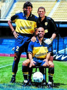 Los tres colombianos de uno de los mejores Boca Juniors de la história, Bermúdez, Córdoba i Serna