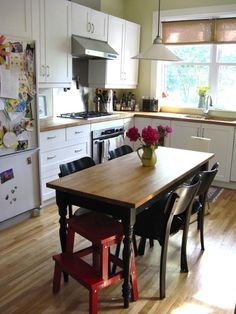 Various Small Rustic Kitchen Table Photos Of Affordable Family Eat In