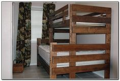 Don Cunniff was looking for a twin over double bunk bed Use these free bunk bed plans to build the bunk bed your