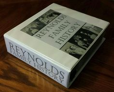 Family History Binde