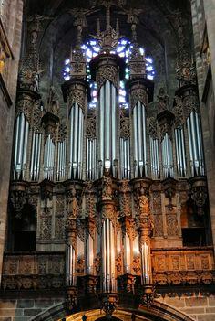 L'orgue de la cathédrale - Cathédrale Notre-Dame de Rodez (Aveyron)