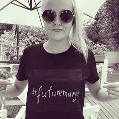 Back to bisnes! Follow @futuremarja #futuremarja IG | SC | Twitter |Pinterest | Periscope. Writable T-shirt Cotton twitter löytyi #tallinn #kalamaja #march