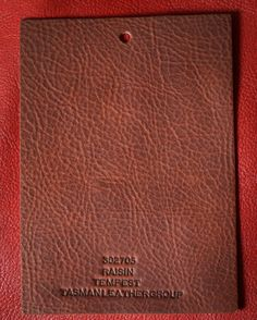 Raisin Tempest, a product of Tasman Leather Group. #TasmanLeatherGroup #TasmanUSA