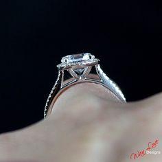 Black Diamond Engagement Ring, Flower Diamond Ring, Vintage Engagement Ring, Art Deco Promise Ring, Black Diamond Halo Ring17