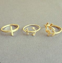 Cute rings. Jewelry. Accessories.