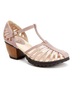 1faacc81a938 Jambu Champagne Sofia Strappy Leather Sandal