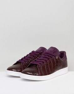 8720cb0ef62 adidas Originals Stan Smith Sneakers In Red BZ0454