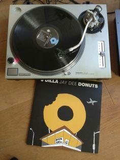 "J Dilla ""Donuts"" vinyl"