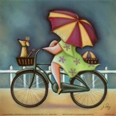 http://cache2.allpostersimages.com/p/LRG/9/955/4R9K000Z/posters/jo-parry-bicycle-lady-iv.jpg