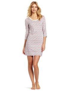 Nautica Sleepwear Women s Floral 3 4 Sleeve Chemise « Clothing Impulse Vip  Fashion Australia bc3911977