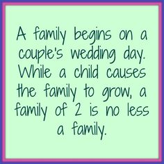 . I love our family of 2 and our furbaby. #Infertility #Family #Childless