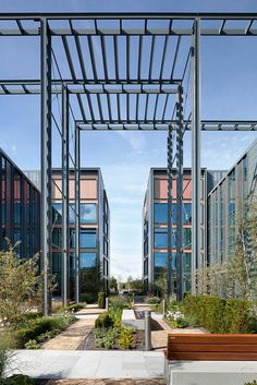The new HQ buildings totaling 108,800 sq ft were designed and completed last year for client HEREF/XLB Property and have achieved a BREEAM 'Very Good' rating