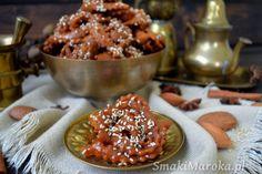 Chebakia (mkharka) - marokańskie ciasteczka sezamowe