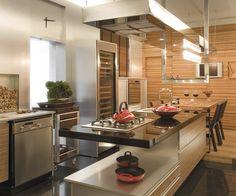 Sala de Almoço e sua cozinha -  Christine Boerger