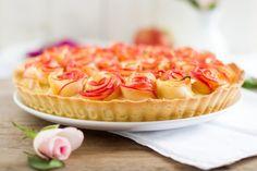 Flowerpower!!   Mit Apfel-Rosen-Torte