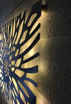 Laser Cut Decorative Metal Wall Art Panel Garden W Outdoor Wall Art, Metal Wall Art Decor, Modern Wall Art, Outdoor Walls, Wall Decor, Metal Art, Outside Wall Art, Laser Cut Aluminum, Laser Cut Metal