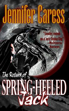 """Read """"The Return of Spring-heeled Jack"""" by Jennifer Caress available from Rakuten Kobo. Spring-Heeled Jack is a British urban legend, first appearing in Eye witnesses tell of a man who could leap severa. Spring Heels, Reading, Ebooks, Book Reviews, Free Apps, Audiobooks, Amazon, Halloween, Bed"""
