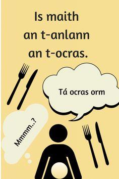 Gaelic Words, 6 Class, Irish Proverbs, Irish Language, European Languages, Real Friends, Primary School, Beautiful Words, Singing