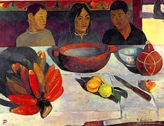 Paul Gauguin The Meal Be Sure To Visit: http://universalthroughput.imobileappsys.com/