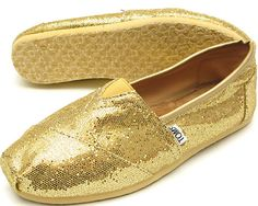 gold toms shoes
