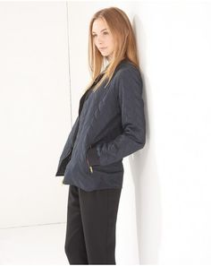 Buy the latest Women's Designer Fashion at Atterley with hundreds of luxury boutique designer brands including dresses, coats, shoes & accessories. Boutique Design, Quilted Jacket, Branding Design, Bomber Jacket, Normcore, Suits, Female, My Style, Coat