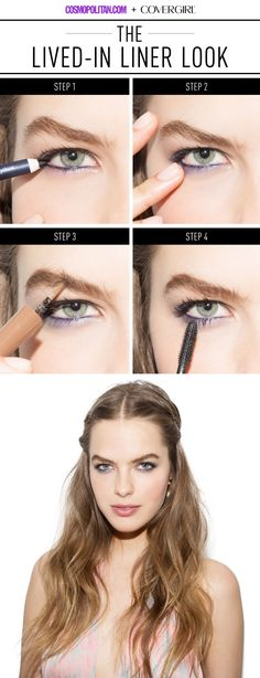 There's nothing sexier than that day-after smudgy liner look, but you don't have to sleep in your eye makeup to achieve the same come-hither effect.