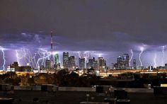 dallas thunderstorms