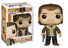 Rick Grimes - The Walking Dead Funko POP! - #RickGrimes #TWD #TheWalkingDead #AndrewLincoln #Funko #Funkopop
