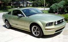 2005 Ford Mustang GT  Legend Lime Green