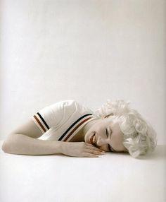 Marilyn Monroe, 1956. Photograph by Milton Greene.