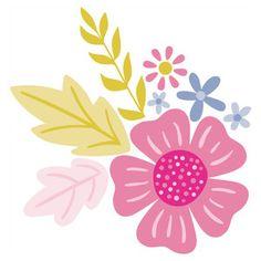 Silhouette Design Store - New Designs 3d Templates, Textile Pattern Design, Flower Doodles, Floral Illustrations, Art Journal Inspiration, Silhouette Design, Doodle Art, Watercolor Flowers, Flower Patterns