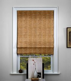 The Shade Store waterfall woven wood shade lanai Window Coverings, Window Treatments, Woven Wood Shades, Bamboo Blinds, Wood Blinds, Beach Cottage Decor, Shades Blinds, Wood Windows, Bay Window