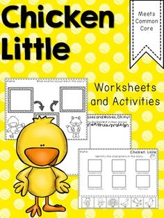 Farm Math and Literacy Activities and Craft too! Chicken ...