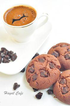 kakaolu-cikolatali-kurabiye ilk deneme nasil olacak bakalim