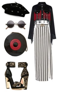 """""""Untitled #49"""" by ralucaralucaa on Polyvore featuring Alexander McQueen, Balenciaga, T By Alexander Wang, Chanel, Gucci and Steve Madden"""