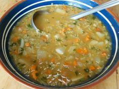 Peruvian quinoa soup, is it soup season yet? :-)