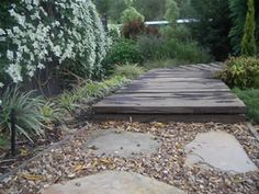 Loving timber walkways - I think it reminds me of hiking..