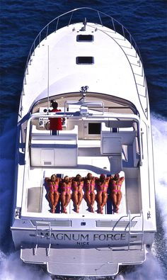 Six reasons to own a boat> Fast Boats, Cool Boats, Speed Boats, Power Boats, Sport Fishing, Fishing Boats, Magnum Force, Boat Girl, Charter Boat