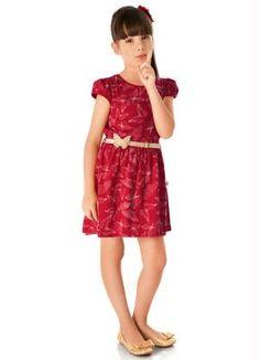 Gostei deste produto do Portal Posthaus! Vestido Infantil Brandili