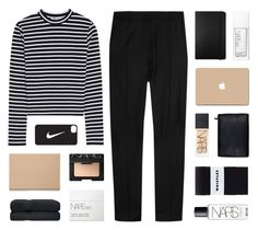 """""""do it right"""" by kiiaa ❤ liked on Polyvore featuring T By Alexander Wang, J.W. Anderson, Moleskine, NARS Cosmetics, Muji, 3M and NIKE"""
