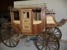 wooden stagecoach kit