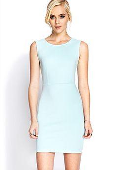Classic Sleeveless Dress | FOREVER21 - 2000071181