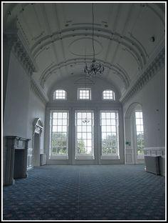The windows of Kinmel Halls ballroom