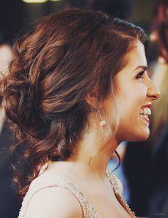 Anna Kendrick. Awesome hair.