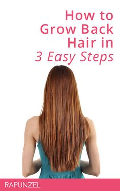 Does it feel like it's taking you ages to grow your hair? Or have you been shedding more hair in the shower? Growing back thinning hair involves factors such as Natural Hair Care, Natural Hair Styles, Long Hair Styles, Male Pattern Baldness, Stop Hair Loss, Strong Hair, Grow Hair, Fall Hair, Rapunzel